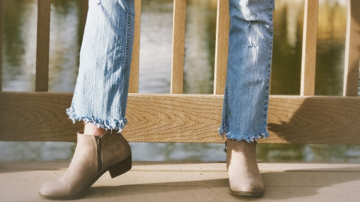 Diy Distressed Fray Bottom Jeans Rial Style